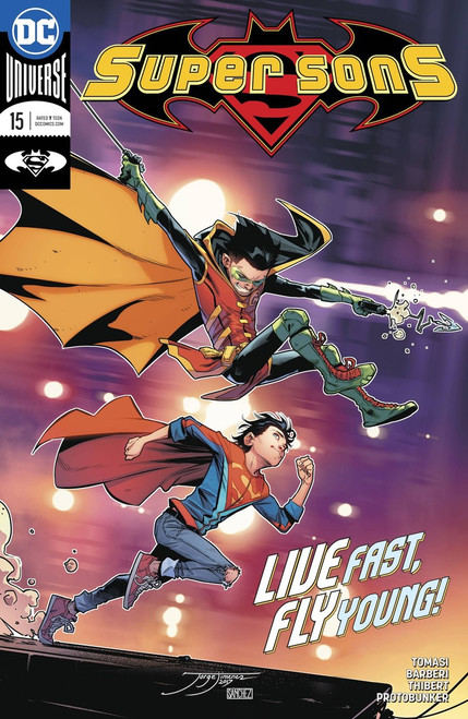 DC Super Sons #15 Comic Book