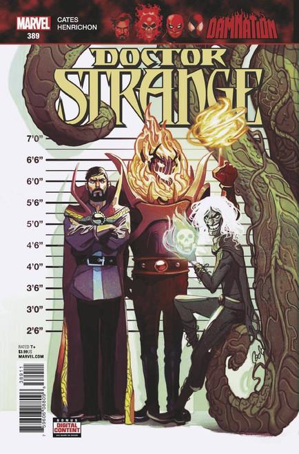 Marvel Comics Doctor Strange #389 Comic Book