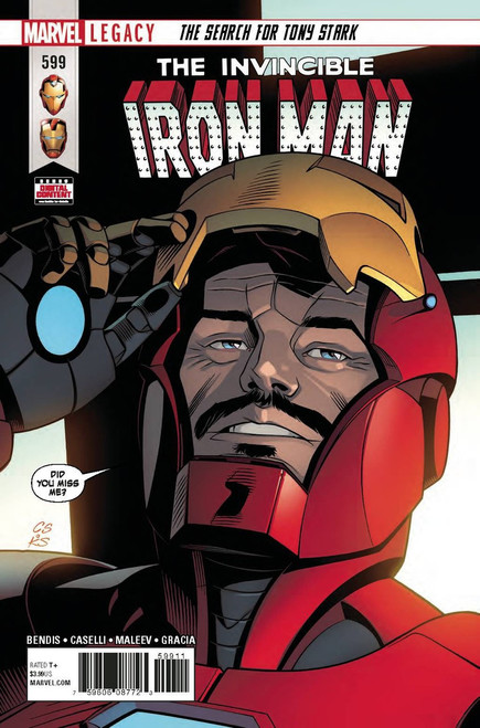 Marvel Comics The Invincible Iron Man #599 Comic Book