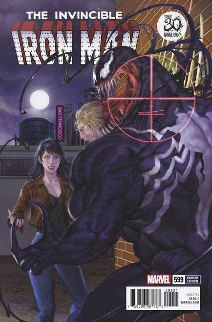 Marvel Comics The Invincible Iron Man #599 Comic Book [Venom 30th Variant]