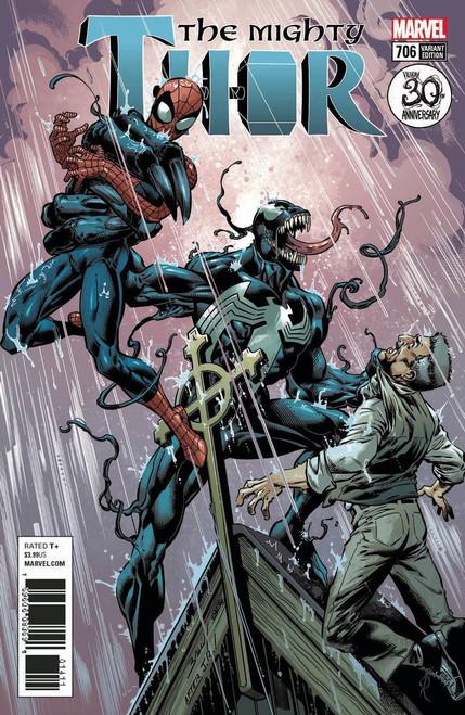 Marvel Comics The Mighty Thor #706 Comic Book [Venom 30th Variant]