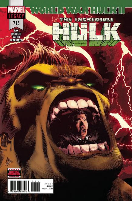Marvel Comics The Incredible Hulk #715 Comic Book