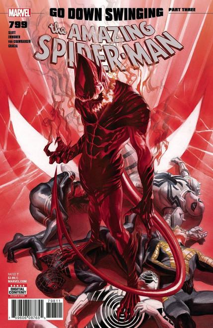 Marvel Amazing Spider-Man #799 Comic Book