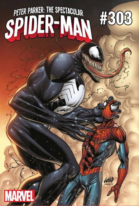 Marvel Comics Peter Parker Spectacular Spider-Man #303 Comic Book [Venom 30th Variant]