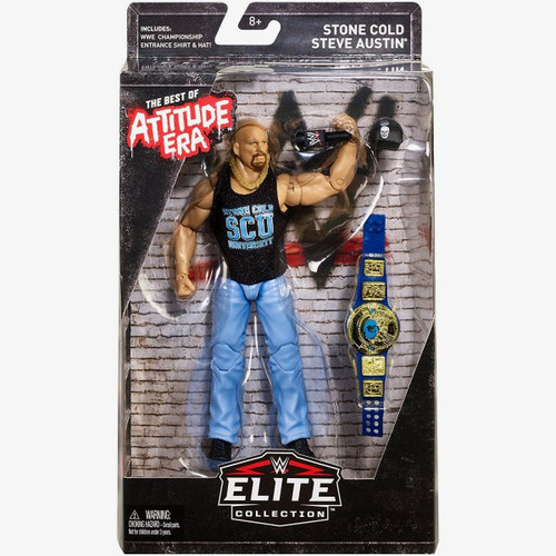 WWE Wrestling Elite Best of Attitude Era Stone Cold Steve Austin Action Figure