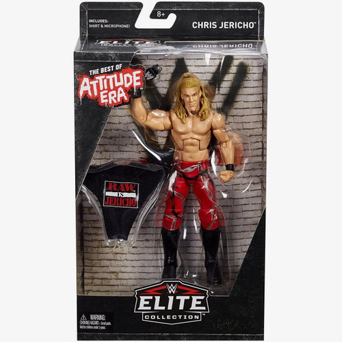 WWE Wrestling Elite Best of Attitude Era Chris Jericho Action Figure