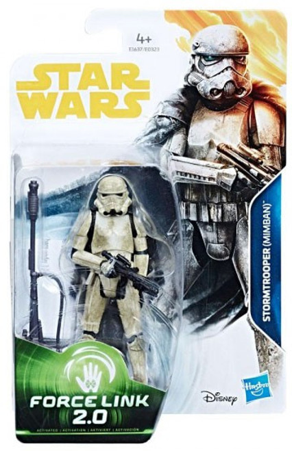 Solo A Star Wars Story Force Link 2.0 Stormtrooper (Mimban) Action Figure