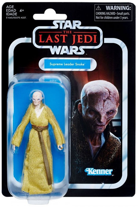 Star Wars The Last Jedi Vintage Collection Supreme Leader Snoke Action Figure