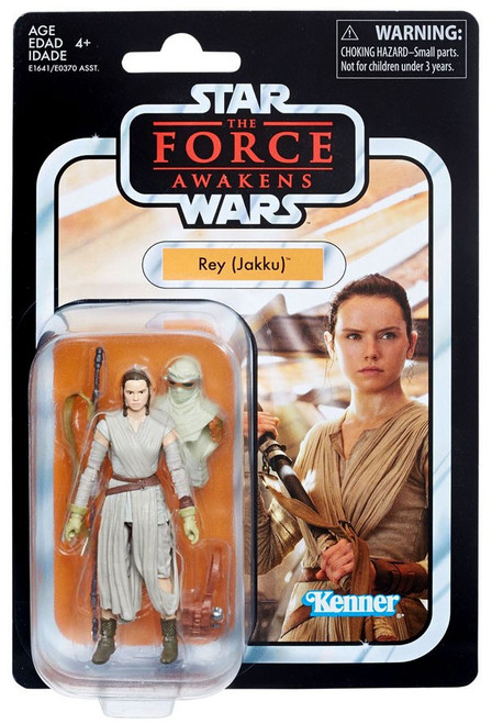 Star Wars The Force Awakens Vintage Collection Rey (Jakku) Action Figure