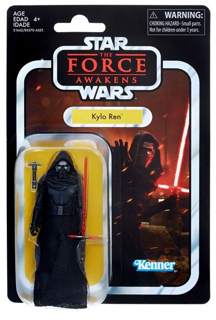 Star Wars The Force Awakens Vintage Collection Kylo Ren Action Figure