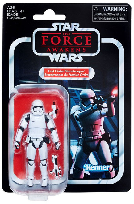 Star Wars The Force Awakens Vintage Collection First Order Stormtrooper Action Figure