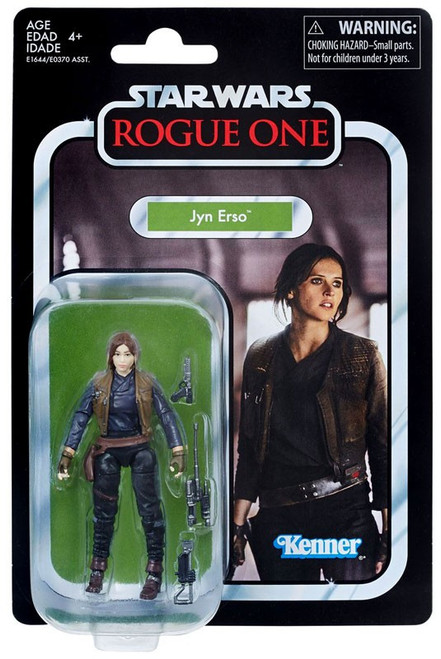 Star Wars Rogue One Vintage Collection Jyn Erso Action Figure
