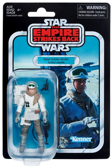 Star Wars The Empire Strikes Back Vintage Collection Rebel Soldier (Hoth) Action Figure