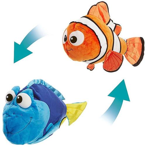 Disney / Pixar Finding Dory Flips Dory & Nemo Reversible Exclusive 22-Inch Plush