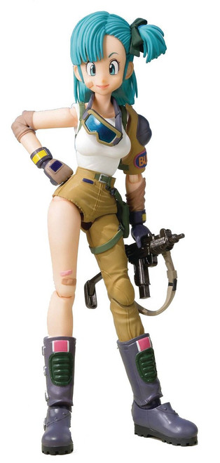 Dragon Ball S.H. Figuarts Bulma Exclusive Action Figure
