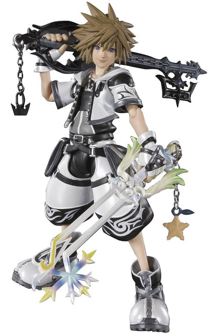 Disney Kingdom Hearts II S.H. Figuarts Sora Exclusive Action Figure [Final Form]