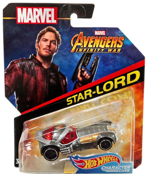 Hot Wheels Marvel Character Cars Star-Lord Die-Cast Car