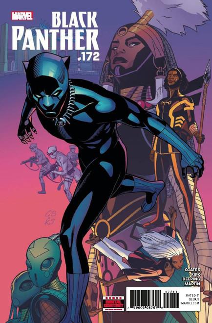 Marvel Black Panther #172 Comic Book