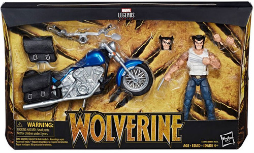 Marvel Legends Ultimate Wolverine with Motorcycle Action Figure
