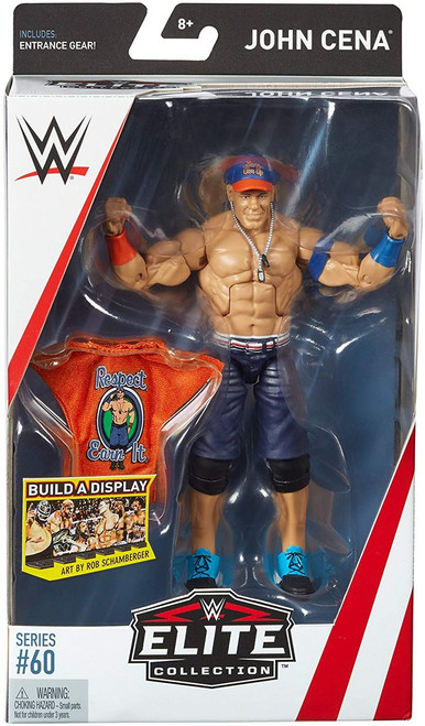 WWE Wrestling Elite Collection Series 60 John Cena Action Figure [Entrance Gear]