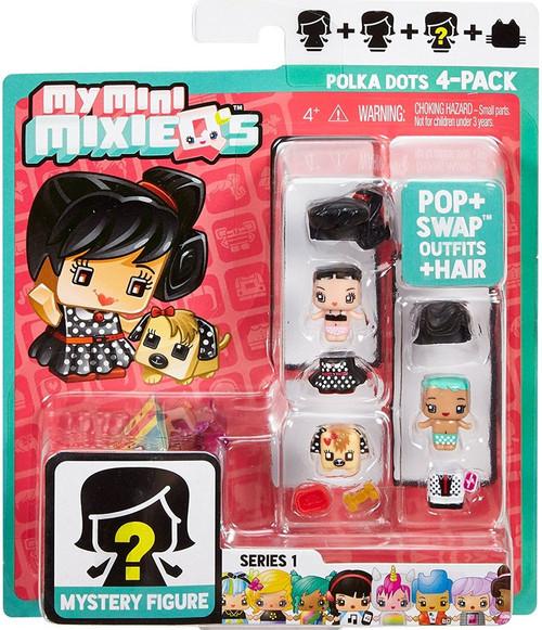 My Mini MixieQ's Series 1 Polka Dots Minifigure 4-Pack