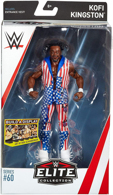 WWE Wrestling Elite Collection Series 60 Kofi Kingston Action Figure [Entrance Vest]