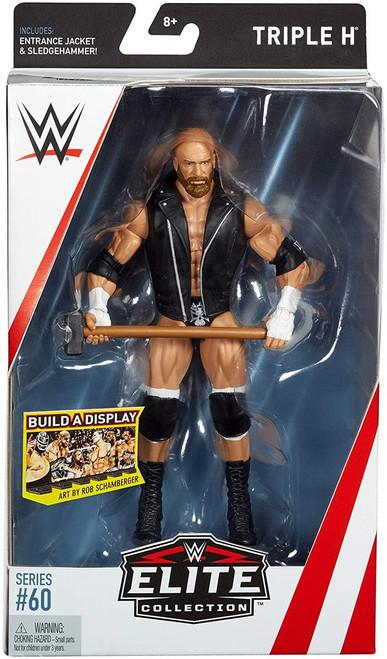WWE Wrestling Elite Collection Series 60 Triple H Action Figure [Entrance Jacket & Sledgehammer]