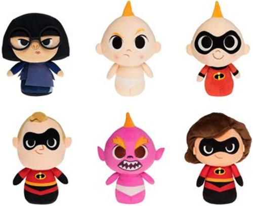 Funko Disney / Pixar SuperCute Incredibles 2 Set of 6 Plushies