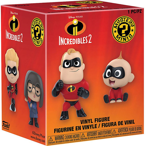 Funko Disney / Pixar Mystery Minis Incredibles 2 Mystery Pack