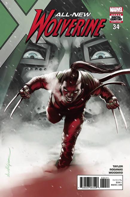 Marvel Comics All-New Wolverine #34 Comic Book