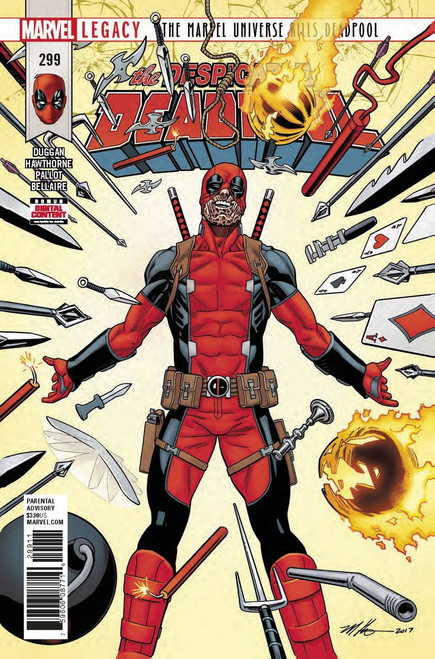 Marvel Comics Despicable Deadpool #299 Comic Book