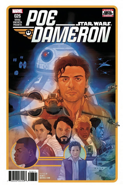 Star Wars Poe Dameron #26 Comic Book