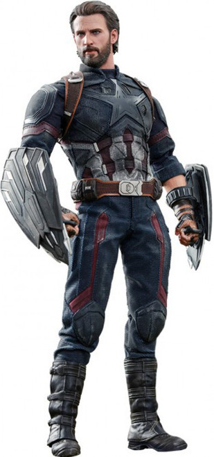 Marvel Avengers Infinity War Movie Masterpiece Captain America Collectible Figure [Infinity War]