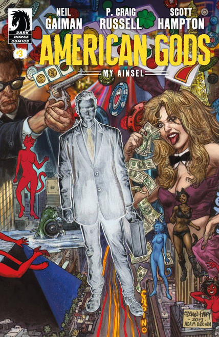 Dark Horse American Gods: My Anisel #3 Comic Book