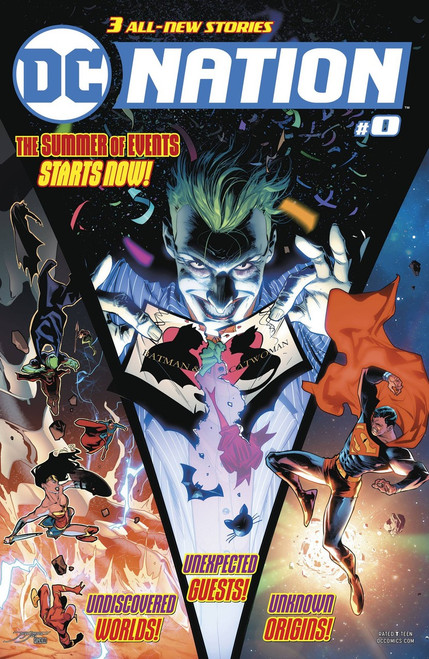 DC Nation #0 Comic Book