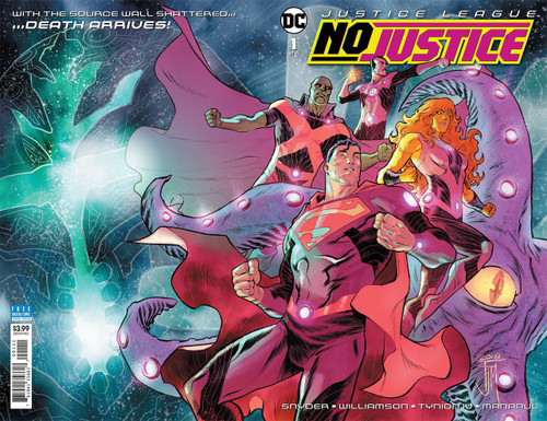 DC Justice League No Justice #1 Comic Book