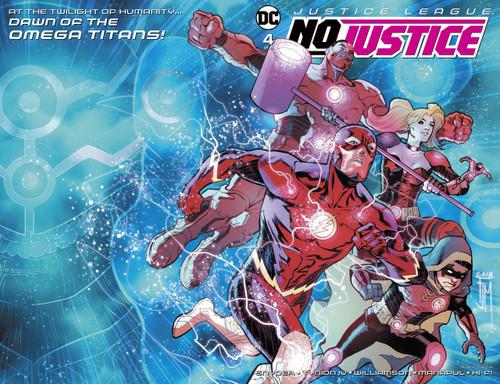 DC Justice League No Justice #4 Comic Book