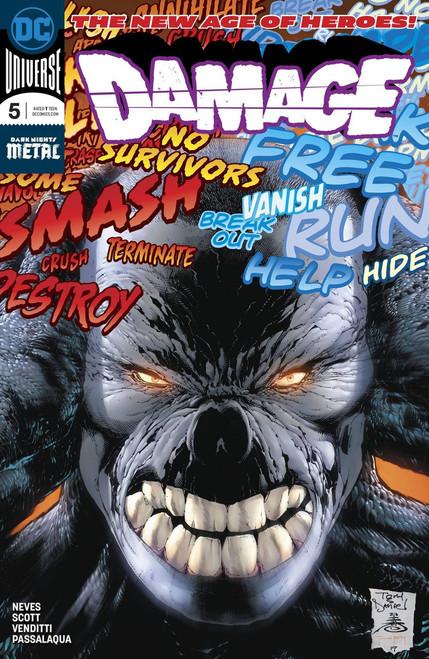 DC Damage #5 Comic Book