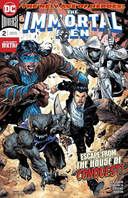 DC Immortal Men #2 Comic Book