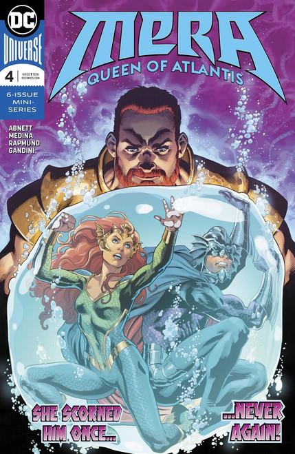 DC Mera Queen of Atlantis #4 Comic Book