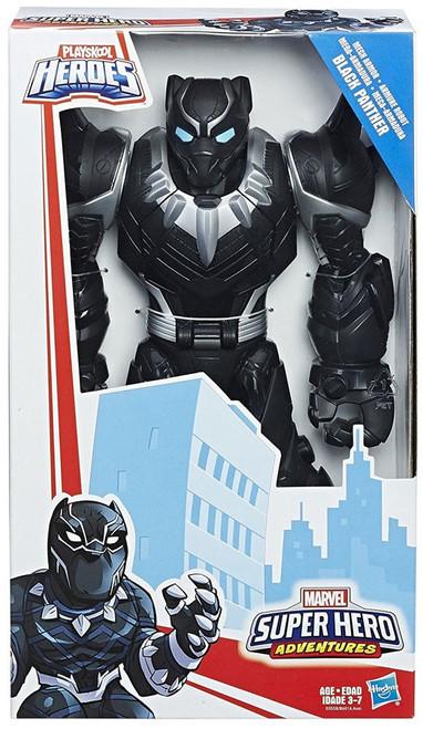 Marvel Playskool Heroes Super Hero Adventures Mech Armor Black Panther Action Figure