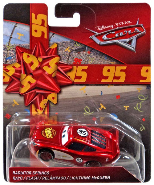Disney / Pixar Cars Cars 3 Birthday Series Radiator Springs Lightning McQueen Diecast Car