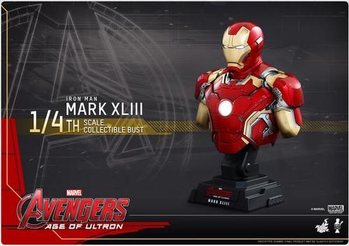 Marvel Avengers Age of Ultron Iron Man Mark 43 Bust [XLIII]