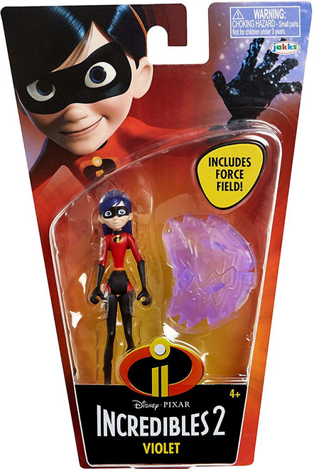 Disney / Pixar Incredibles 2 Super Poseable Series 1 Violet Basic Action Figure