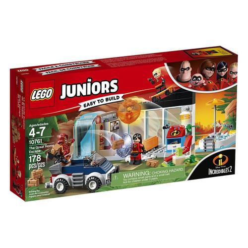 LEGO Disney / Pixar Incredibles 2 Juniors Great Home Escape Set #10761