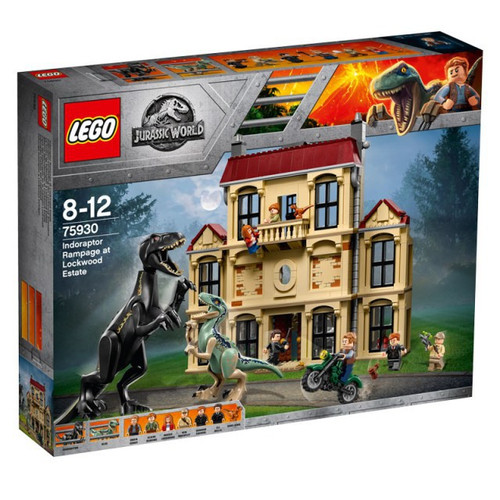 LEGO Jurassic World Indoraptor Rampage at Lockwood Estate Set #75930