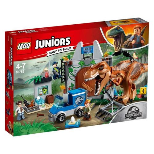 LEGO Jurassic World Juniors T.rex Breakout Set #10758