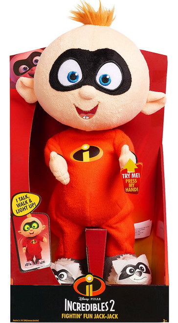 Disney / Pixar Fightin' Fun Jack Jack 8.5-Inch Light-Up Talking Plush