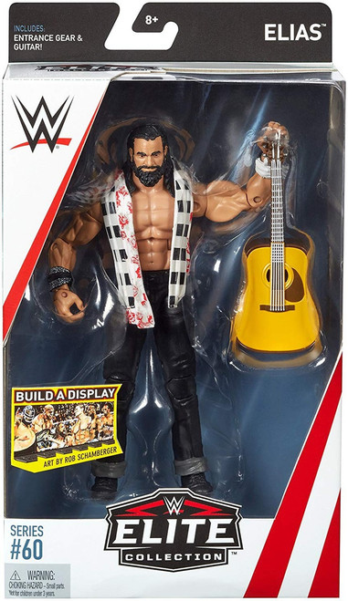 WWE Wrestling Elite Collection Series 60 Elias Action Figure [Entrance Gear & Guitar]