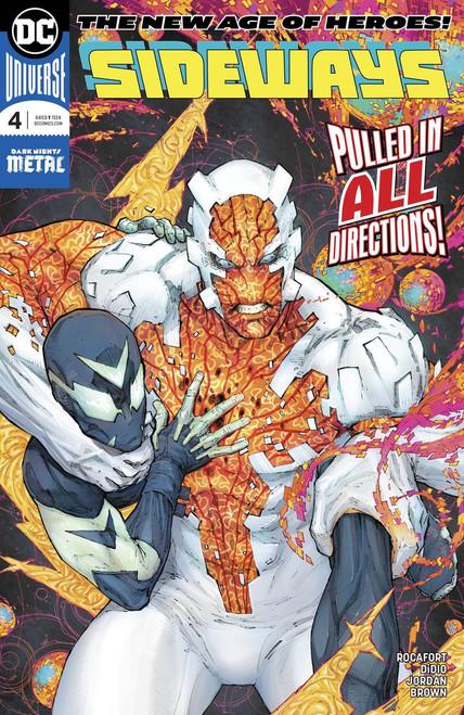 DC Sideways #4 Comic Book